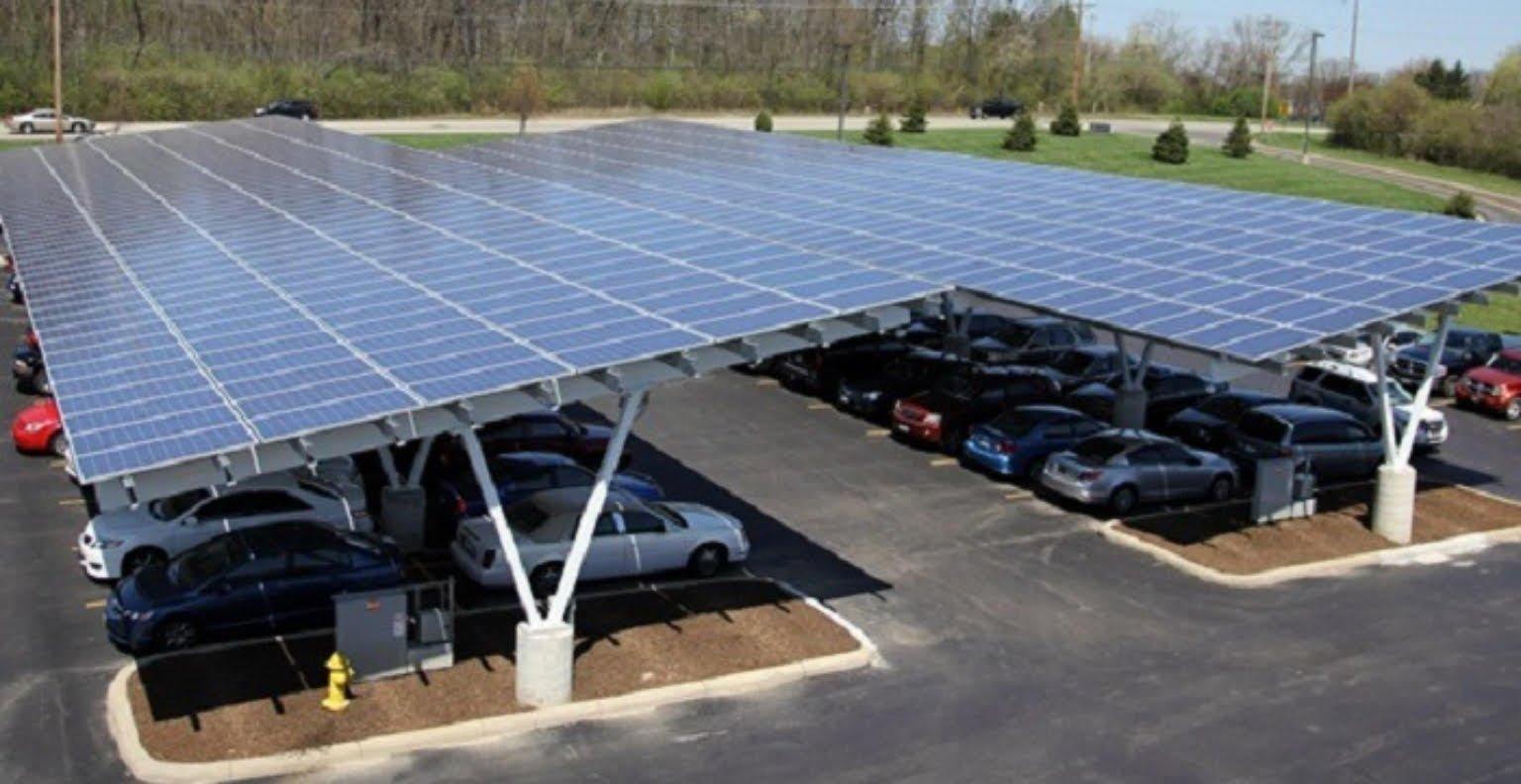solar panels carport