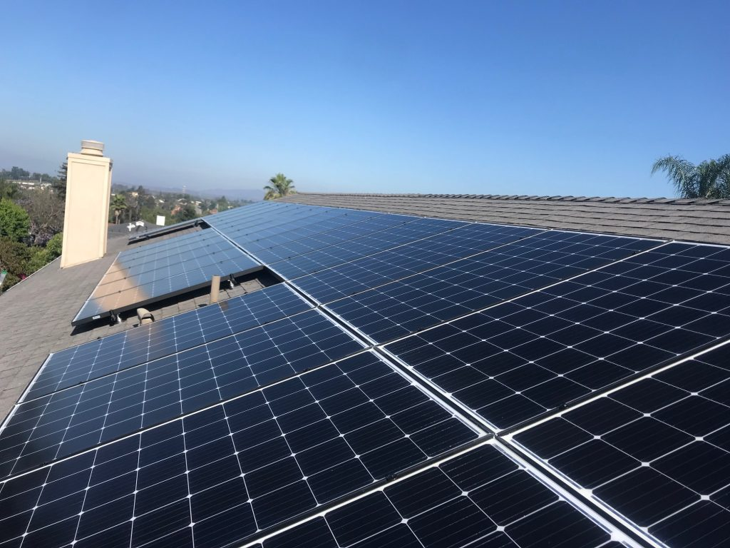 Fallbrook Solar Panel installation