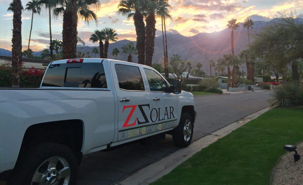 Sunlogix Energy & ZSolar Truck