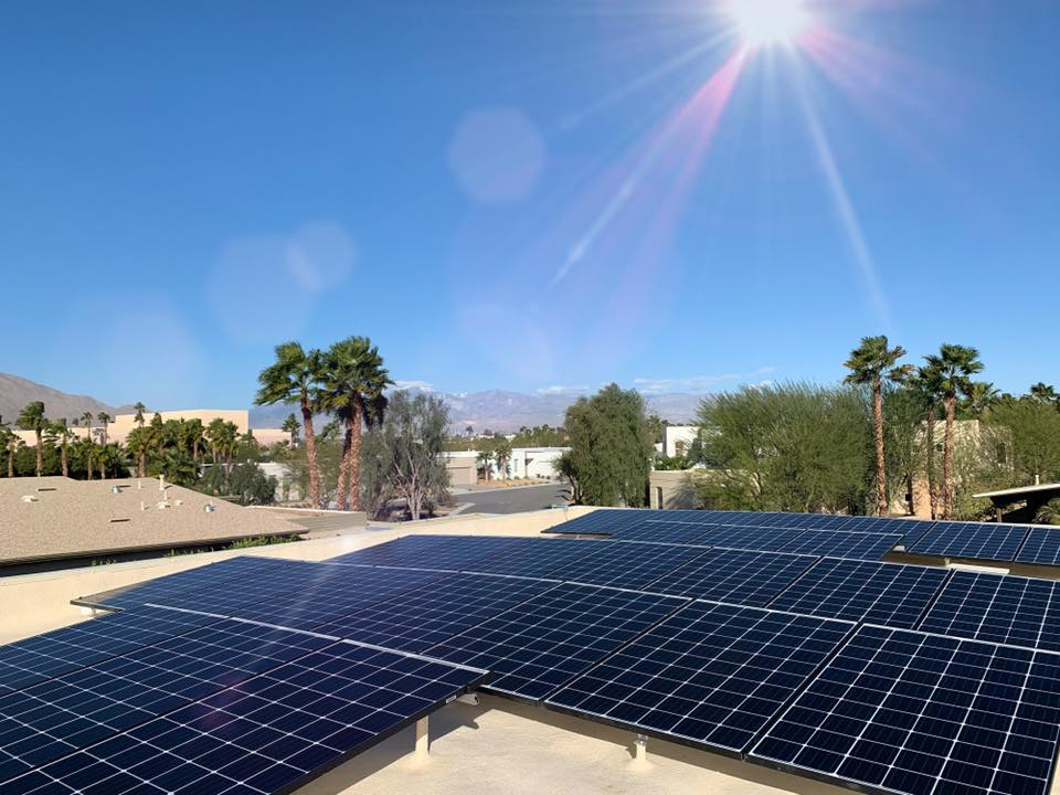solar panel installation Coachella valley