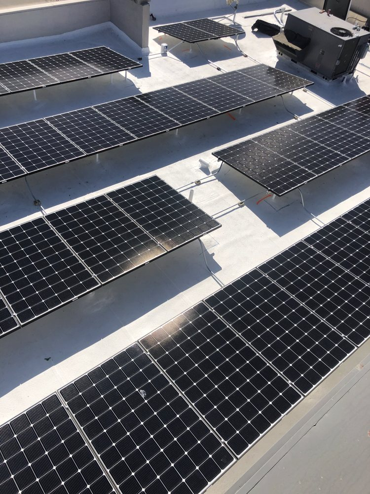 solar panels on business